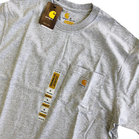 CARHARTT / WORKWEAR POCKET TEE  HEATHER GREY  カーハート Tシャツ
