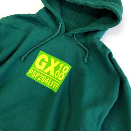 GX1000 PSP264LFFF HOODIE DARK GREEN パーカー