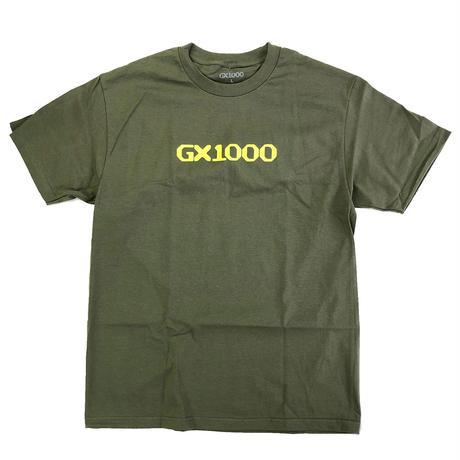 GX1000 OG LOGO TEE  MILITARY GREEN Tシャツ