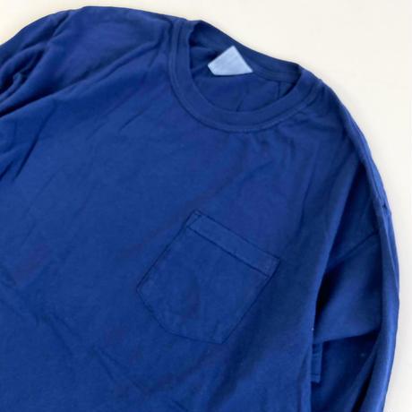 COMFORT COLORS 6.1oz L/S Pocket TEE  TRUEBLUE コンフォートカラーズ 長袖Tシャツ ロンT