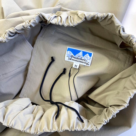Powderhorn Mountaineering  EASY PANTS BEIGE  Mサイズ パウダーホーンマウンテニアリング イージーパンツ