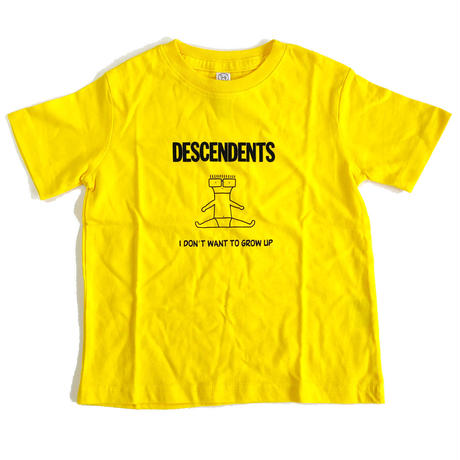 DESCENDENTS / I Don't Want To Grow Up Toddler Tee Yellow ディセンデンツ キッズTシャツ