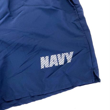 US NAVY PT SHORTS made by New Balance  ショーツ ショートパンツ アメリカ海軍 フィジカルトレーニング MADE IN USA ニューバランス