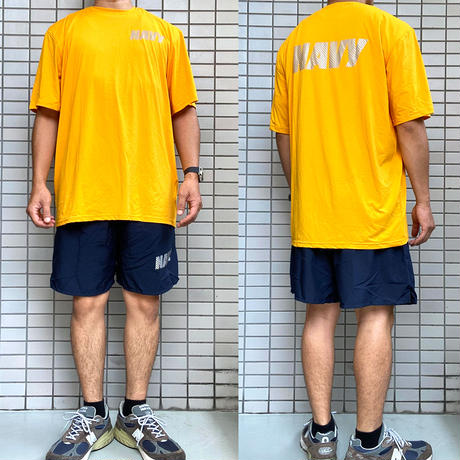 US NAVY PT SHIRTS made by New Balance  Tシャツ アメリカ海軍 フィジカルトレーニング MADE IN USA ニューバランス