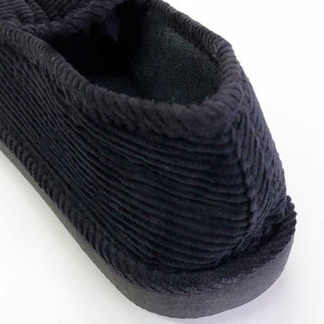 Corduroy Slippers  BLACK コーデュロイ スリッパ サンダル