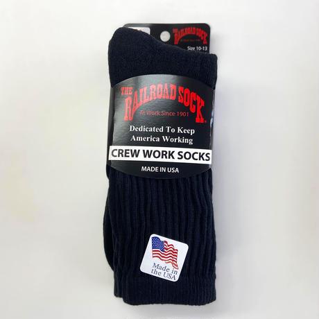 RAILROAD SOCK /  CREW WORK  SOCKS 3pack  MADE IN USA  靴下 ソックス 3足パック