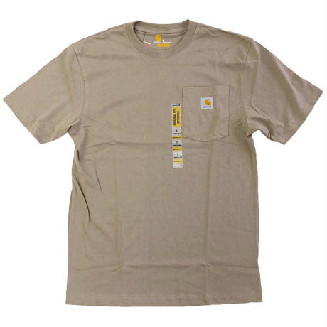 CARHARTT / WORKWEAR POCKET TEE  DESERT カーハート Tシャツ