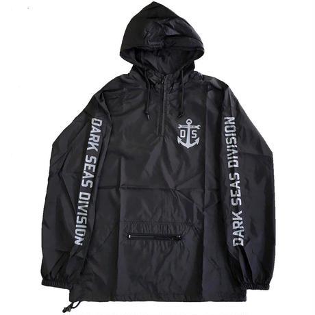 DARK SEAS / BOMBARDIERⅡ ANORAK BLACK ダークシーズ アノラック ナイロンジャケット