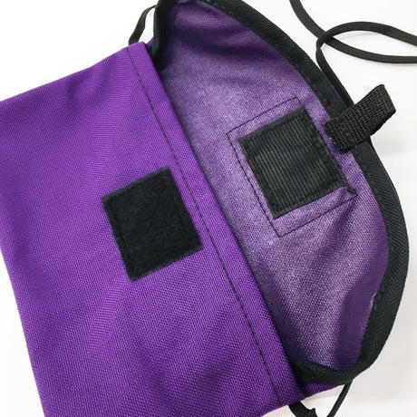 Tough Traveler / FLAP NECK POUCH MOD S  PURPLE タフトラベラー ポーチ サコッシュ USA