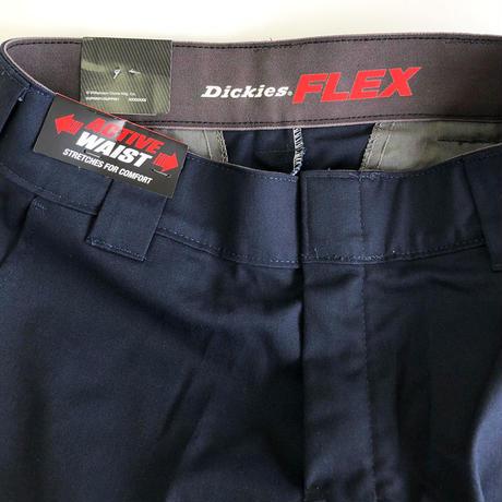 DICKIES FLEX 11inch FLATFRONT SHORT ディッキーズ フレックス ショーツ ショートパンツ  ダークネイビー