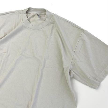 LOS ANGELES APPAREL 6.5oz Garment Dye CREW S/S TEE CEMENT ロサンゼルスアパレル Tシャツ