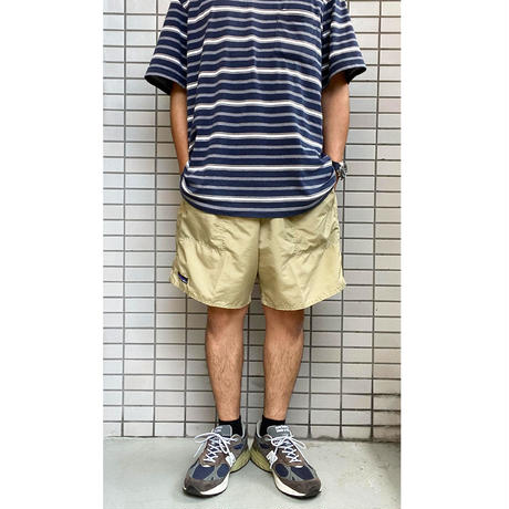 THOUSAND MILE IMPERIAL TRUNK SHORTS KHAKI サウザンドマイル ナイロンショーツ MADE IN USA