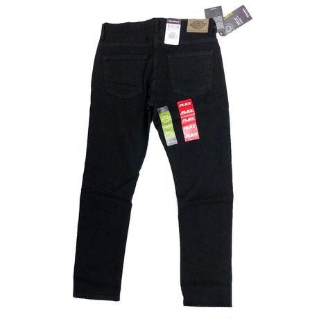 DICKIES  FLEX  SLIM FIT  5POCKET DENIM PANTS  BLACK ディッキーズ ブラック デニムパンツ スリム  スキニー