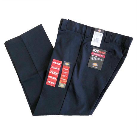 DICKIES 874 FLEX WORK PANTS BLACK  ディッキーズ  フレックス ワークパンツ