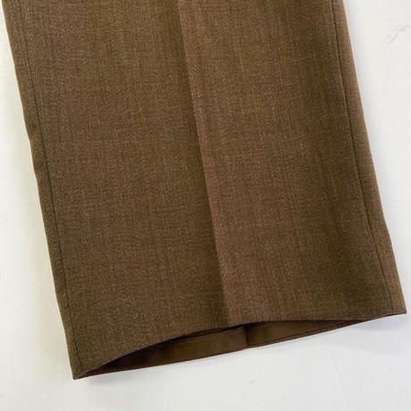 British Army  Barrack Dress Trousers  BROWN  DEAD STOCK  ブリティッシュアーミー 英軍 イギリス軍 スラックス トラウザー