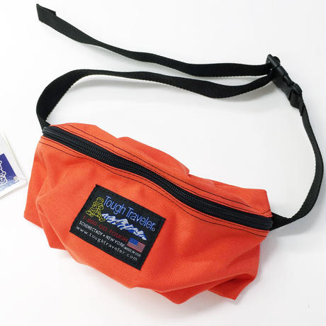 Tough Traveler / SUNNYSIDE PACK ORANGE タフトラベラー ウエストバッグ USA