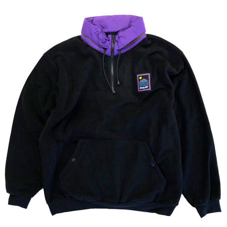 ONLY NY OUTDOOR GEAR FLEECE PULLOVER vintage black オンリーニューヨーク フリース