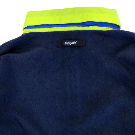 ONLY NY OUTDOOR GEAR FLEECE PULLOVER navy オンリーニューヨーク フリース