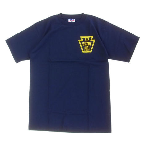 SPECTRUM SKATEBOARD   MIKE STEIN  TEE NAVY スペクトラムスケートボード