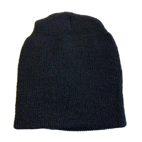 US MILITARY USN  WOOL KNIT BEANIE     WATCH CAP BLACK 米軍 ワッチキャップ ニットキャップ