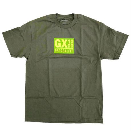 GX1000 PSP264LFFF TEE MILITARY GREEN Tシャツ