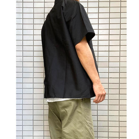 RED KAP  Chef Designs  Cook Shirt BLACK レッドキャップ 半袖 コックシャツ Chef Designs シェフデザインズ ブラック