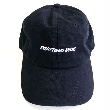 DESCENDENTS / Everything Sucks DadHat BLACK ディセンデンツ キャップ