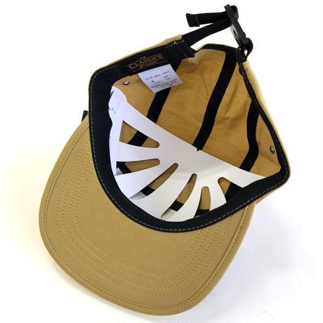 FLEXFIT 5panel CAP KHAKI キャップ 5パネル コットンナイロン
