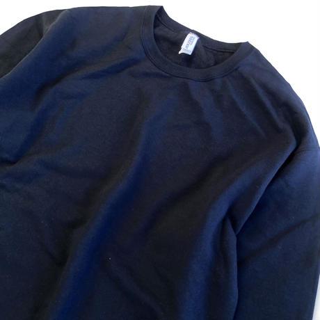 JERZEES 8oz CREW NECK SWEAT BLACK ジャージーズ クルーネック スウェット ブラック
