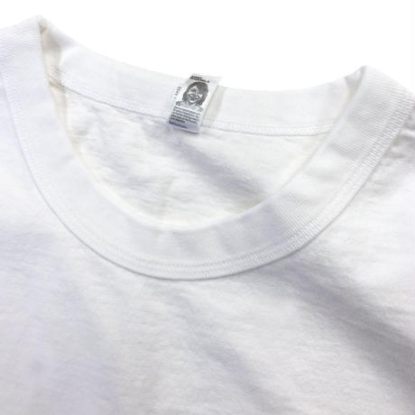 LOS ANGELES APPAREL 8.5oz Garment Dye S/S TEE OFF WHITE ロサンゼルス アパレル 後染め Tシャツ MADE IN USA