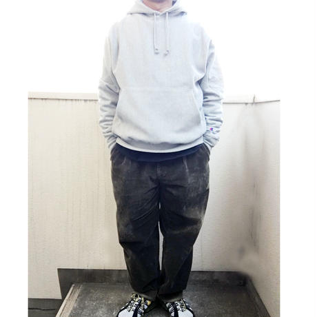 Champion Reverse Weave12oz. Pullover Hood BLACK チャンピオン リバースウィーブ パーカー