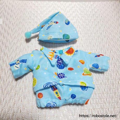 パジャマ2点セット(ブルー)/1点もの