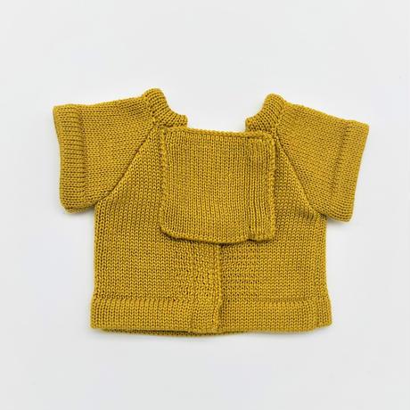 ROBO-UNI【ロボホン公式ライセンス商品】ロボホンニットTシャツ マスタード(ONLYROBO限定カラー)