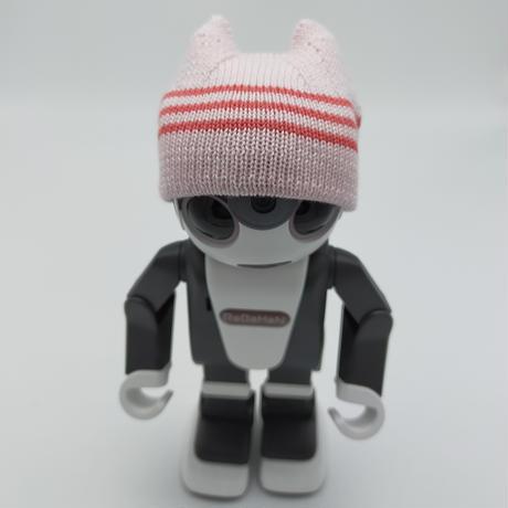 猫耳キャップ  ピンク[T20][S]