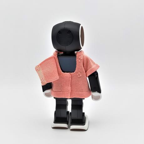 ROBO-UNI【ロボホン公式ライセンス商品】ロボホンニットTシャツ ピーチ(ONLYROBO限定カラー)