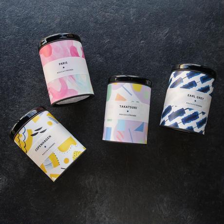 【全国発送】ROCCA&FRIENDS 旅する紅茶 エルサレム(S缶)