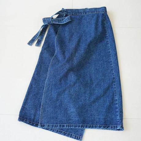denim skirt (119-3244)