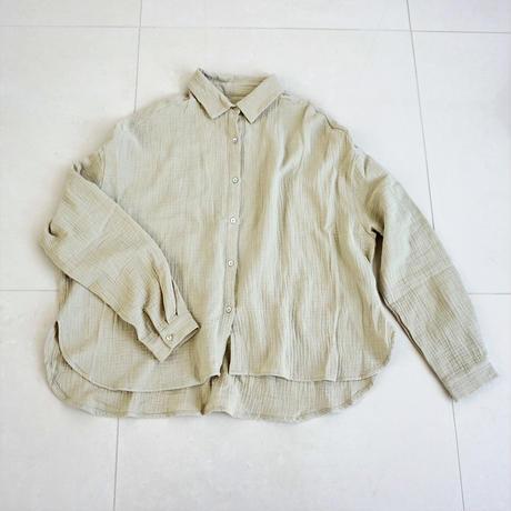 【再販】ワッフルシャツ(S-007)