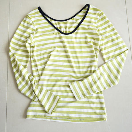 stripe long sleeve T-shirts(119-1209)