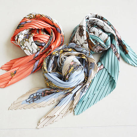 pleats scarf(K-2)