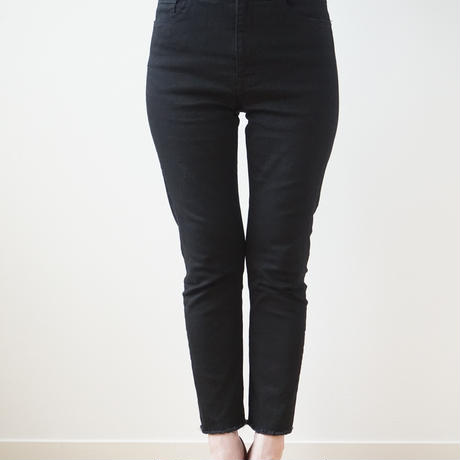 【24時間限定追加受付】【受注販売】beautiful line high west black skinny pants 2020