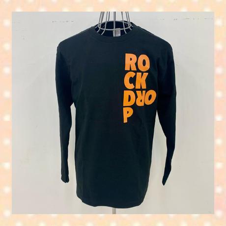 「2020 ROCK DROP」ロンTee / Black