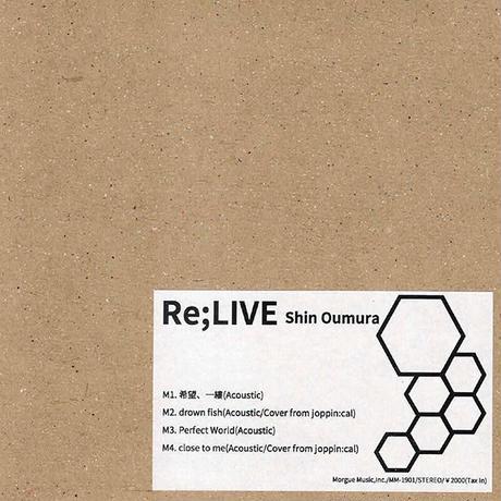 【ライブ会場限定】Re;LIVE01-04/CD★28日のみ★