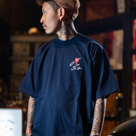 red jap Demon 六星Tシャツ(RV042)