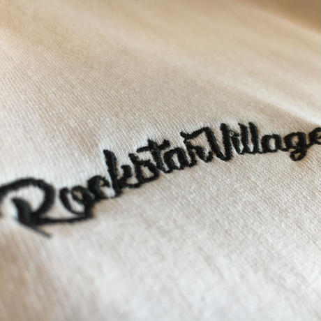 RockstarVillage×ILLSYNAPSE Double Name T-SHIRTS (RV001)