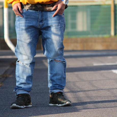 Rockstar Village Stretch Denim Pants (RV025)