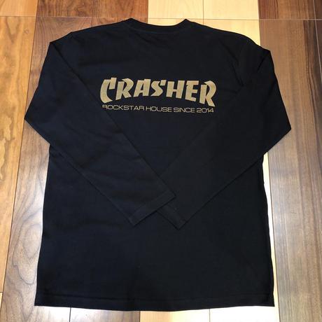 ROCKSTAR HOUSE  Original  CRASHER LT/S BLACK