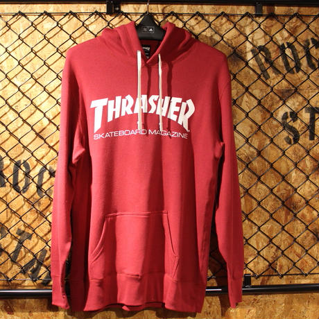 THRASHER MAG LOGO FRENCH TERRY SWEAT PARKA