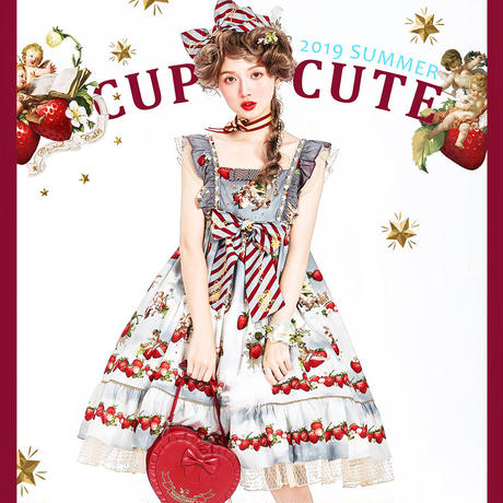 CupidCute・Eton Strawberry Angel JSK