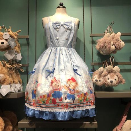 ★上海ディズニー★ ダッフィージャンパースカート